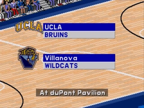 Coach K College Basketball | 1995 | 2nd Round | UCLA vs Vill