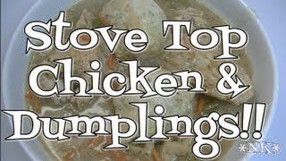 Cooking | Stove Top Chicken and Dumplings Recipe! Noreen s Kitchen