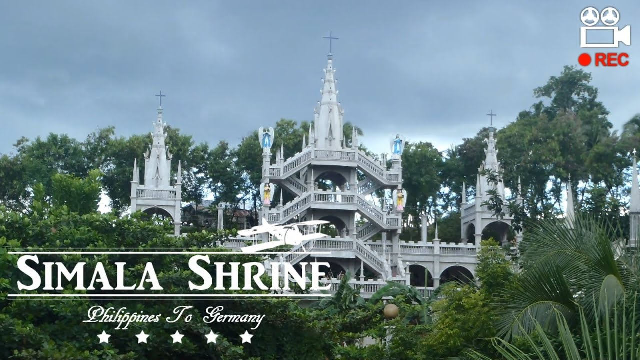 Philippines Simala Shrine In Sibonga Lindogon Cebu S Castle Church Cebu Youtube