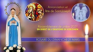 Rosaire du dimanche 21mars