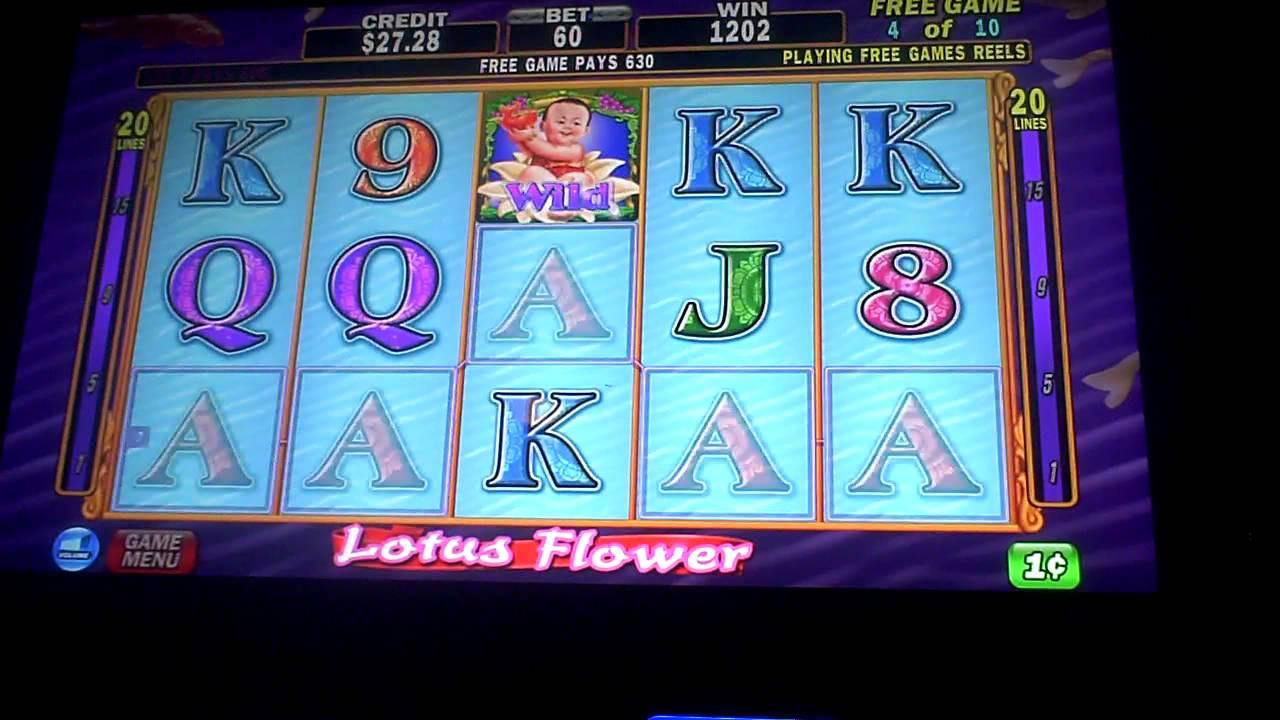 Free Online Slots Lotus Flower