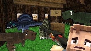 Minecraft Dinosaurs #17 - BABY SPINOS & T-REX?! (Jurassic World Minecraft Roleplay)