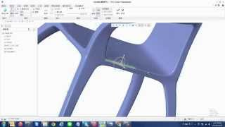 Creo 3.0 FreeStyle Chair Design