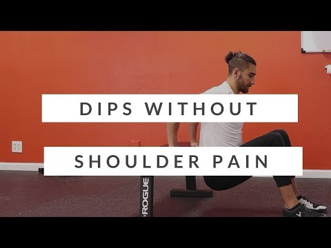 Stop doing dips - until you watch this: how to do dips safely without shoulder pain