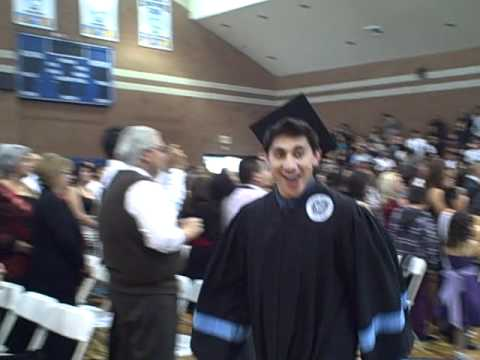 Ritchie's Initial Walk on the night of graduation from Bishop Mora Salesian High School.AVI