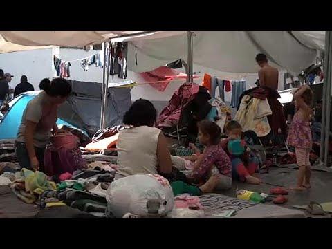 شاهد: سوقُ عملٍ -يعترض- قافلة المهاجرين في المكسيك  - نشر قبل 14 ساعة
