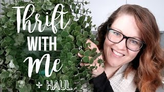 Zapętlaj THRIFT HAUL & SHOP WITH ME | HOME DECOR & MORE | FUN FINDS 2019!!! | Thrifted Living