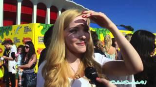Dove Cameron Interview - 2015 Kids' Choice Awards