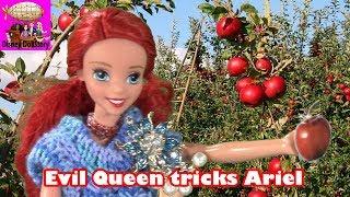 Ariel is Kidnapped - Part 1 - Elsa the Mermaid Series - Frozen Littlest Mermaid Funny Video | Disney
