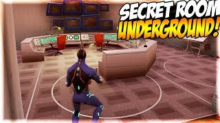 NEW SECRET ROOM FOUND UNDERGROUND IN FORTNITE!!! | Fortnite Hidden Messages?!