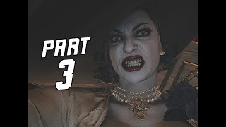 Resident Evil 8 Village Gameplay Walkthrough Part 3 - Lady Dimitrescu (RE8 4K)