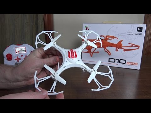 Sheng Kai - D10 Drone - Review and Flight