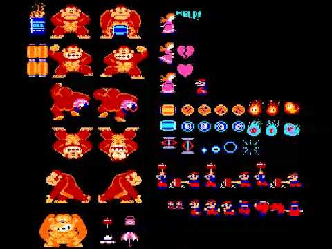 Donkey Kong Arcade Music - 25m BGM (Full Version)