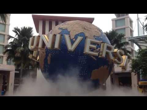 Universal Studio Singapore The Globe ユニバーサル・スタジオ・シンガポール 地球儀