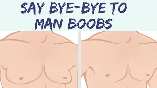 How to Get Rid of MOOBS AKA MAN BOOBS| Men's Health | How to Reverse Estrogen Dominance in Men