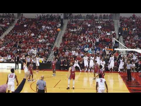 Jonathan Holmes from DOWNTOWN! Arkansas v. Troy, Dec. 16, 2017