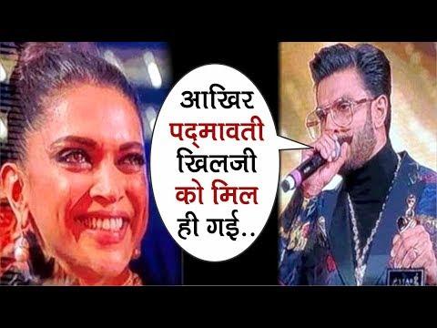 """Ranveer Singh"" Ke Best Actor Award Ke Speech Ko Sunkar Ro Padi ""Deepika Padukone"""