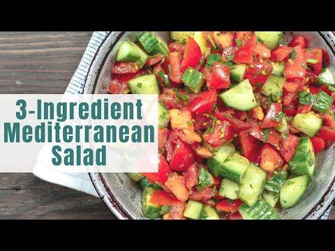 Lazy Mediterranean Salad!