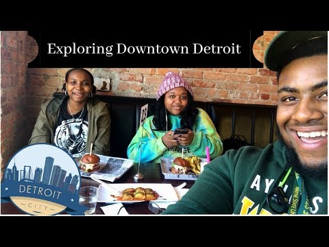 🙌🏾Exploring and Eating AMAZING!! Food in Downtown Detroit!!!🙌🏾