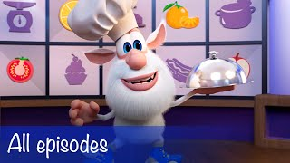 Booba - Compilation of All 63 episodes + Food Puzzle - Cartoon for kids