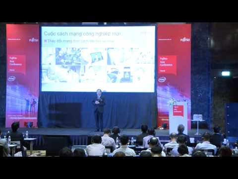 The keynote of Fujitsu Asia Conference 2016 Hanoi