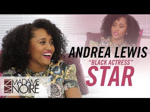 "Andrea Lewis Talks ""Black Actress"" & Playing Drake's Love Interest   MadameNoire"