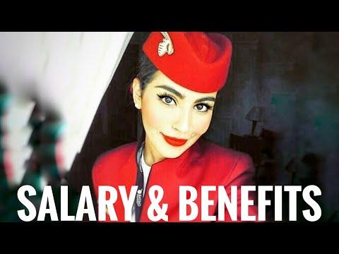 QATAR AIRWAYS CABIN CREW - SALARY and BENEFITS