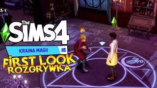 ✨ Rzucanie Zaklęć, Latanie Na Miotle, Pojedynek i Smoczek! ✨ First Look: The Sims 4 Kraina Magii
