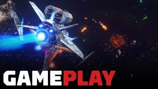 Rebel Galaxy Outlaw: 1 Hour of Gameplay Footage