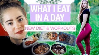 New Diet : WHAT I EAT IN A DAY + NEW WORKOUT ROUTINE | Burn Fats Diet | Day in the Life