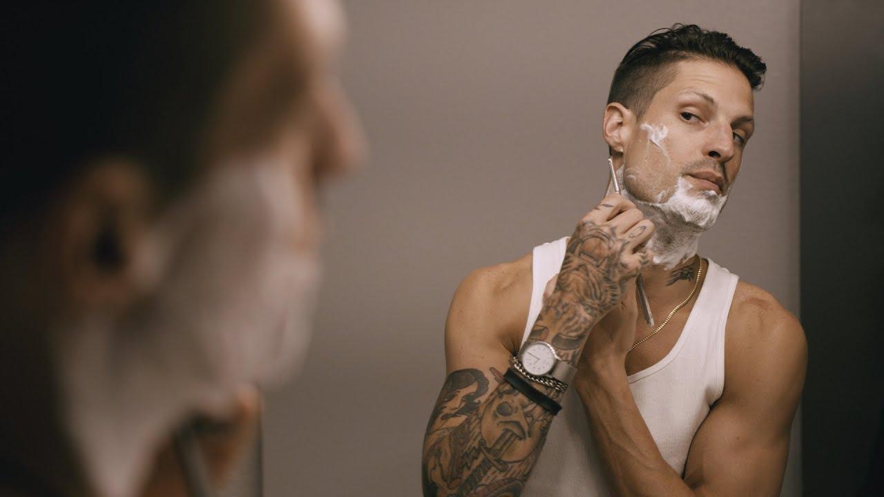 ASMR *REAL* Shaving Sounds Mens Shave 🪒