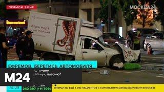 Какое наказание грозит актеру Михаилу Ефремову из-за ДТП - Москва 24