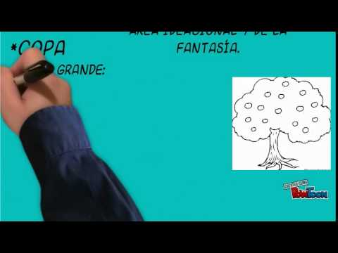 tutorial dibujo htp casa arbol persona  YouTube