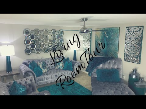 LIVING ROOM TOUR!!//Z GALLERIE//PIER 1//AMERICAN SIGNATURE FURNITURE//DETAILS ON ALL DECOR!!
