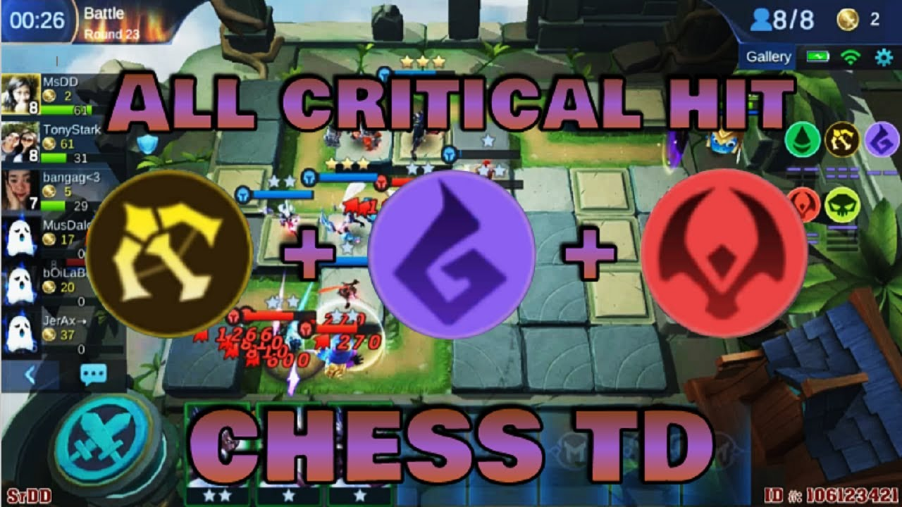 marksman, scarlet & beast build - chess td gameplay | mobile legends bang bang
