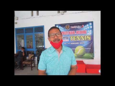 Sukses dengan Turnamen UTR, Pengkab PELTI Kediri Bakal Gelar Kejuaraan Tenis Yunior