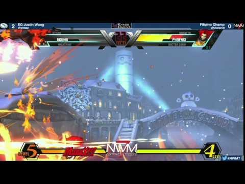 #NWM7 #UMVC3 T8 WF - EG Justin Wong (WOL-STO-GKI) Vs Filipino Champ (MAG-DRD-PHO)