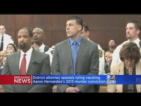 DA Appeals Decision To Vacate Aaron Hernandez Murder Conviction