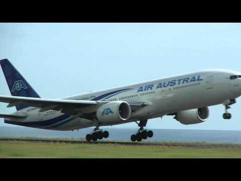 REU274 pour Mayotte,Boeing 777 Air Austral(FMEE/RUN)