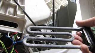 Как поменять ТЭН в стиральной машине(Ремонт стиральной машины - замена ТЭНа. Меняем ТЭН в стиральной машинке., 2013-11-04T19:29:06.000Z)