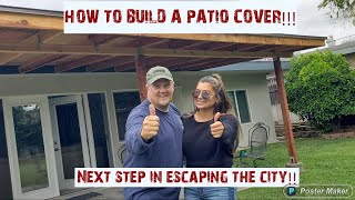 Gambar cover How to build a patio cover