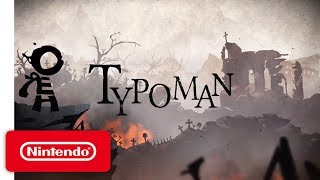 Typoman - Announcement Trailer - Nintendo Switch