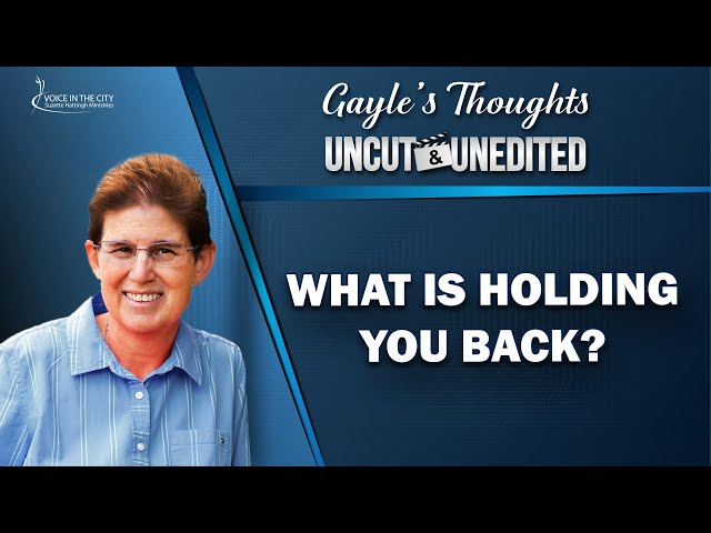 What is holding you back? | EP32
