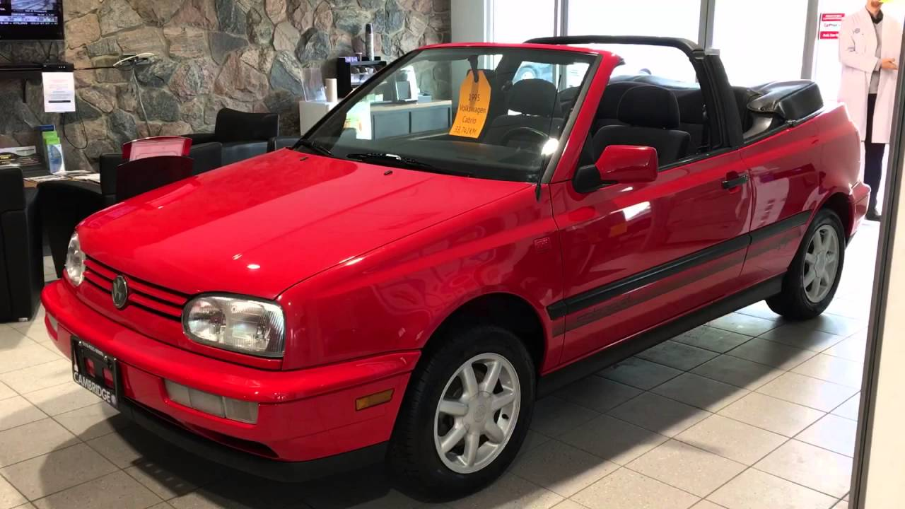 For 1995 Cabrio At Cambridge Volkswagen