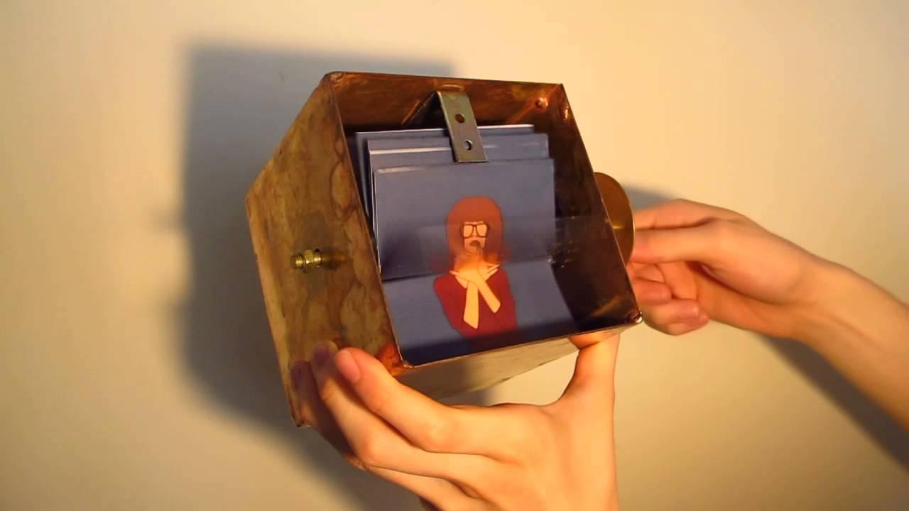 how to make a flipbook box