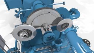 centrifugal compressor animation