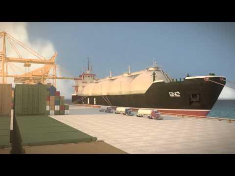 BNE LNG Tanker Port