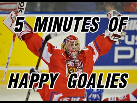 5 Minutes of Happy Goalies