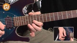 Wizards Of Oz - Style Guitar Licks Performance With Jamie Humphries Guitar Interactive