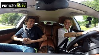 Martha Boul prueba la nueva Maserati Levante en Salón del Automovil 2017 by PRMotor TV Channel